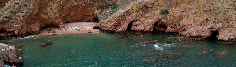 Praia Ilha da Berlenga Silver Coast Tours Portugal