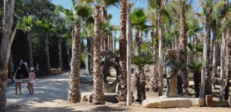 Silver Coast Travelling, jardim de escultura africana, Buddha Garden, Bombarral